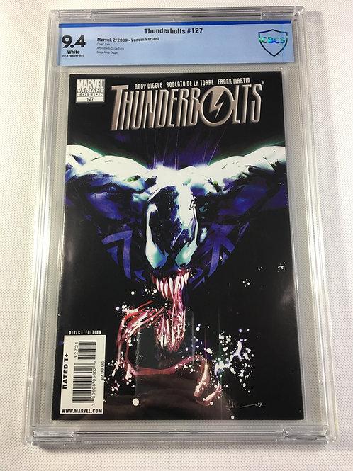 Thunderbolts 127 Venom Variant CBCS 9.4