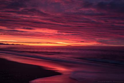 Sunset - Nouvelle Zelande
