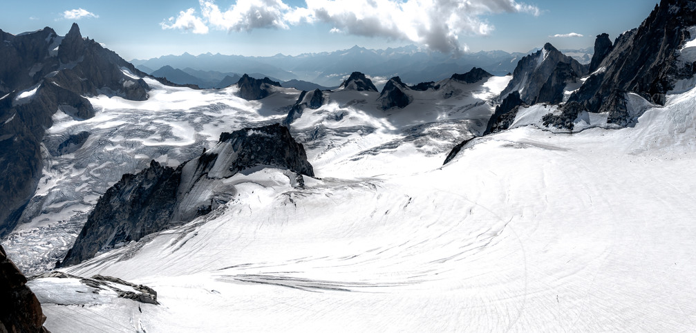 Vallée blanche - Massif du Mont Blanc - France