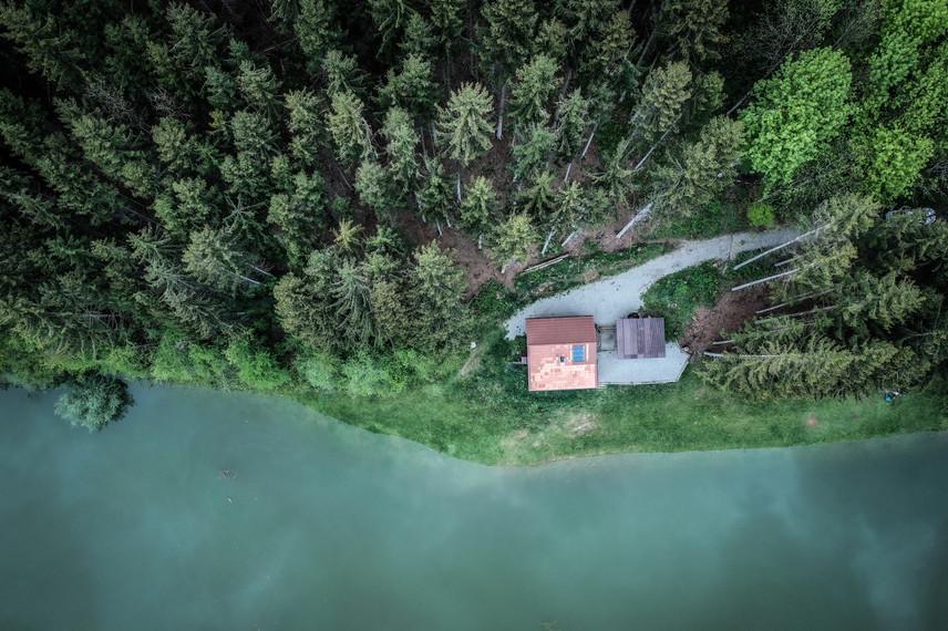 Lac de Montsalvens - Charmey, Suisse