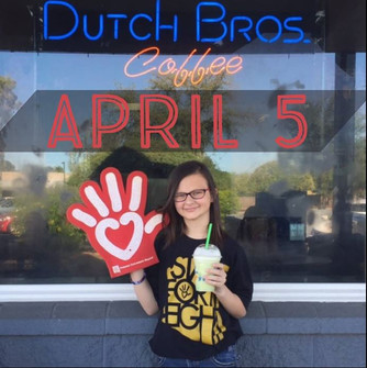 ELEGANCE IN GIVING: DUTCH BROS ARIZONA DRINK ONE FOR KIDS