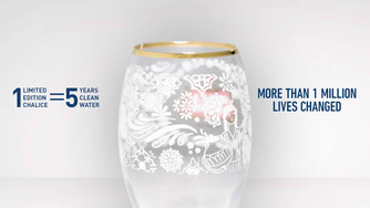 ELEGANCE IN GIVING: STELLA ARTOIS CHALICE CAMPAIGN | WATER.ORG