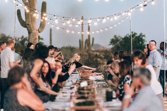 HOT IN THE CITY: MOON OVER SOUTH MOUNTAIN | DINNER IN THE PARK