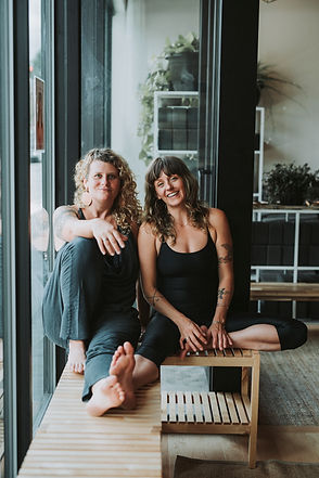 Jessica Garay and Audra Carmine Co-Founders of Love Hive Yoga in Portland, Oregon