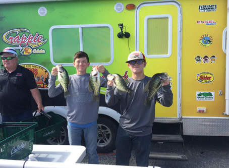 Davis and Theodos Win Lake D'Arbonne