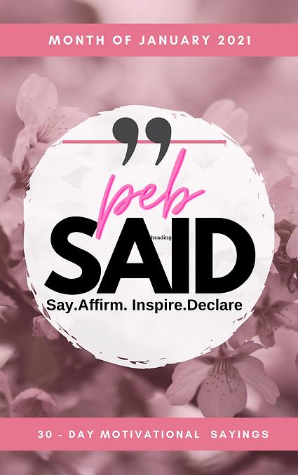 Pink Floral Brush Stroke Prayer Journal