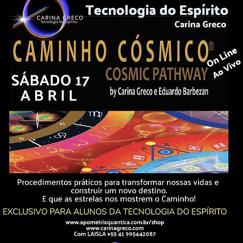 CAMINHO CÓSMICO - 17 de ABRIL de  2021