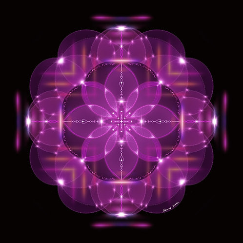 MANDALA FREQUENCIAL PERSONALIZADA (arte gráfico frequencial)