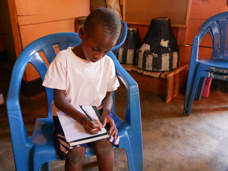 A day with children in need of education