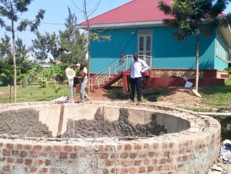 New School Term and Water Tank Progress