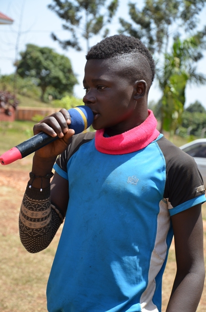 Brian giving testimony about how he became a street child.