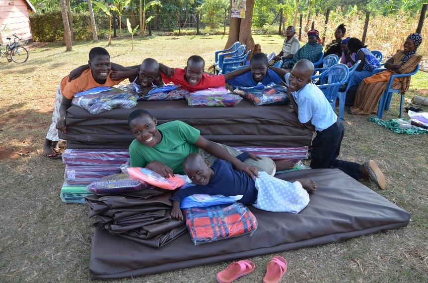 Happy times at Ring Of Hope Uganda