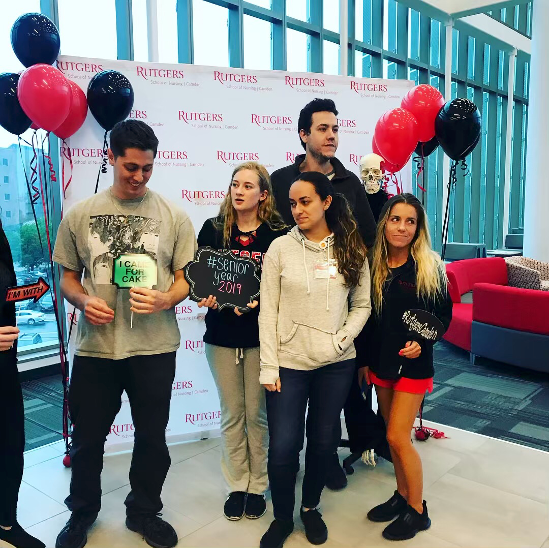 Rutgers University Nursing Students