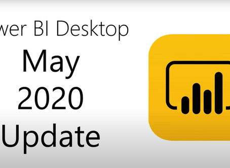 Power BI Desktop Update 05/2020