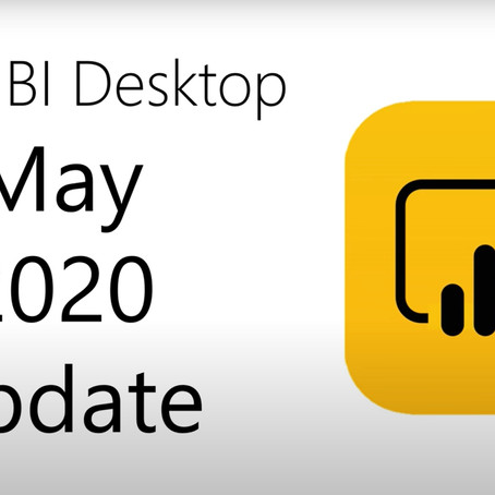 Power BI Desktop Update 05/2020