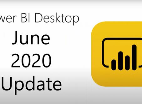 Power BI Desktop Update 06/2020