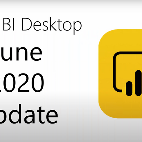 Power BI Desktop Update 06/2020