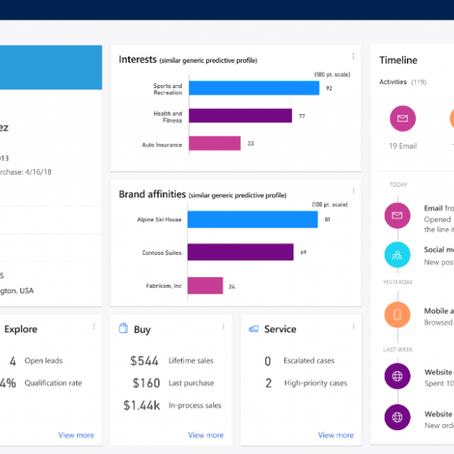 Microsoft Dynamics 365 Customer Insights