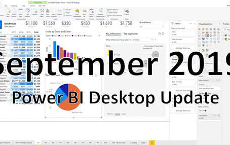 Power BI Desktop Update - September 2019