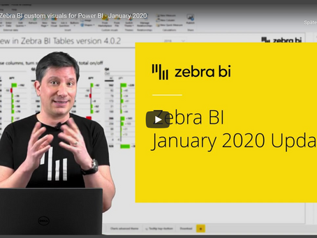 Zebra BI for Power BI – January 2020 Update
