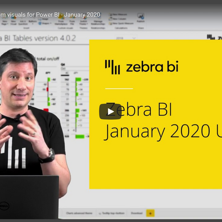 Zebra BI for Power BI – January 2020 Update