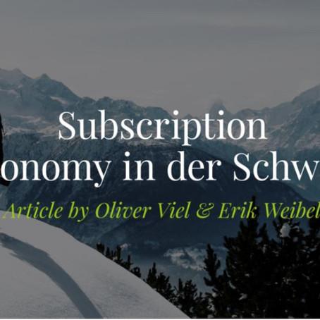 Subscription Economy? Denken Sie über Netflix, Spotify und Amazon hinaus!