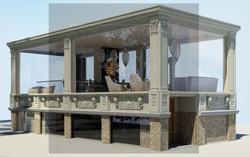 гостиная в стиле Lounge дизайн интер