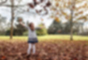 Jumping in the Leaves