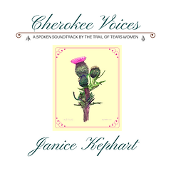 Janice Kephart Cherokee Voices Album cover