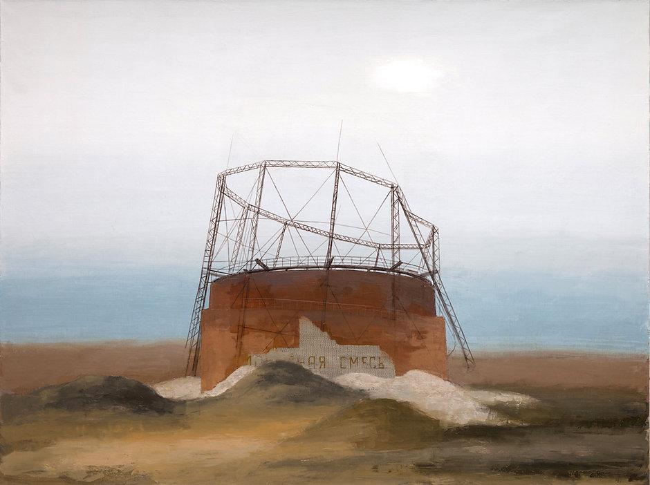 Pavel Otdelnov. Ruins. Gasholder.