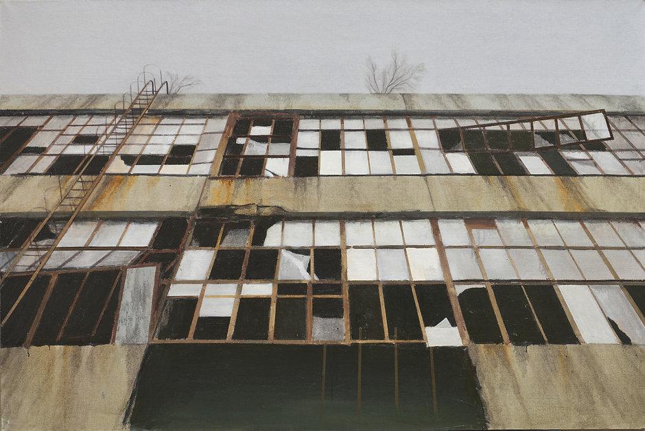 Pavel Otdelnov. Ruins. Facade