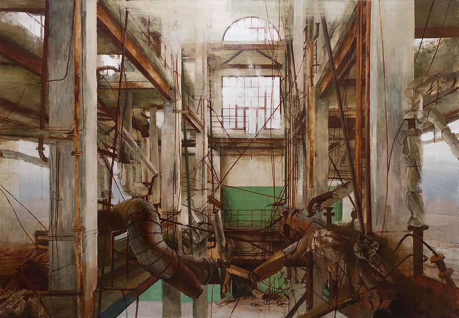 Pavel Otdelnov. Ruins. Phenol Acetone Shop.