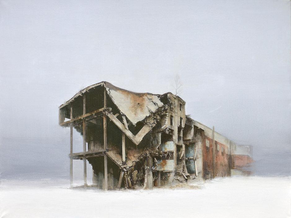 Pavel Otdelnov. Ruins. Zarya.