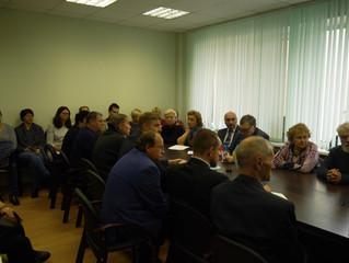 Актив профсоюза встретился с генеральным директором ЦАГИ