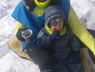 В Цаговском лесу прошли лыжные гонки