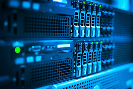 Network servers in data room ..jpg