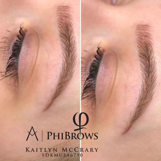 Beautiful Technique of Microblading by Kaitlyn | Ink Lash and Brow