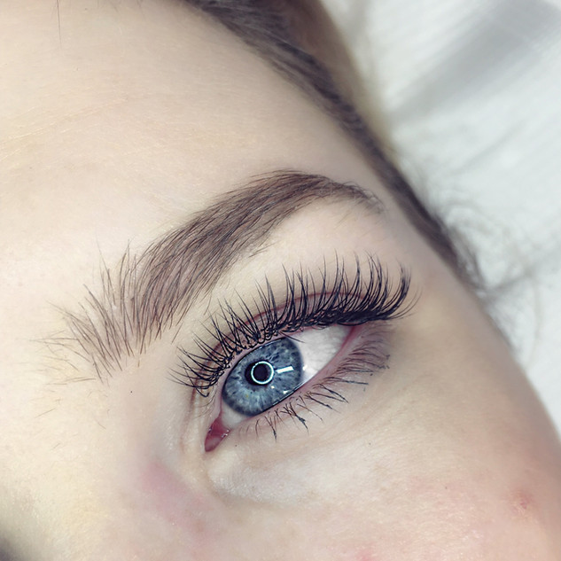 Look at these amazing Classic Lash Extensions! | Ink Lash and Brow Pewaukee WI