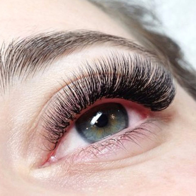 Look at these amazing Volume Lash Extensions! | Ink Lash and Brow Pewaukee WI