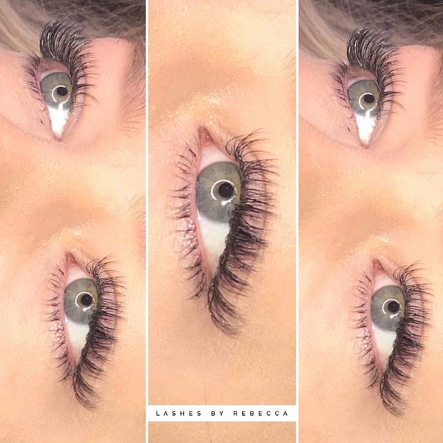 Beautiful Hybrid Lash Extensions | Ink Lash and Brow