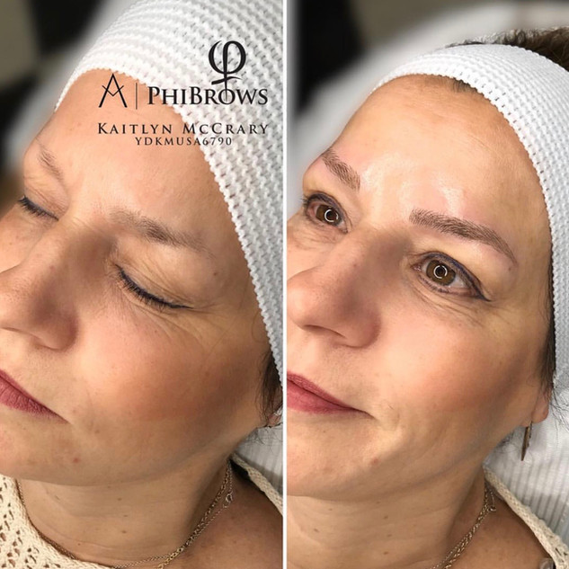What an amazing change! Microblading really changes your entire look! Get yours at the best Microblading Studio at Ink Lash and Brow in Pewaukee, WI