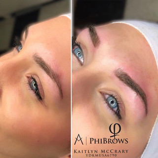 Ombre Shading done by Kaitlyn | Microblading | Ink Lash and Brow | Pewaukee WI