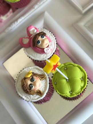 Pijama Party Cupcakes