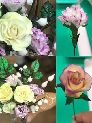 Sugar Paste Flower Bouquette