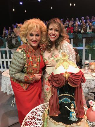 Our Opera Cake in Smaakt naar meer, specialy for Karin Bloemen