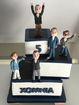 Xomnia Amsterdam Cake
