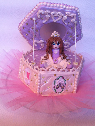 Music Box Cake