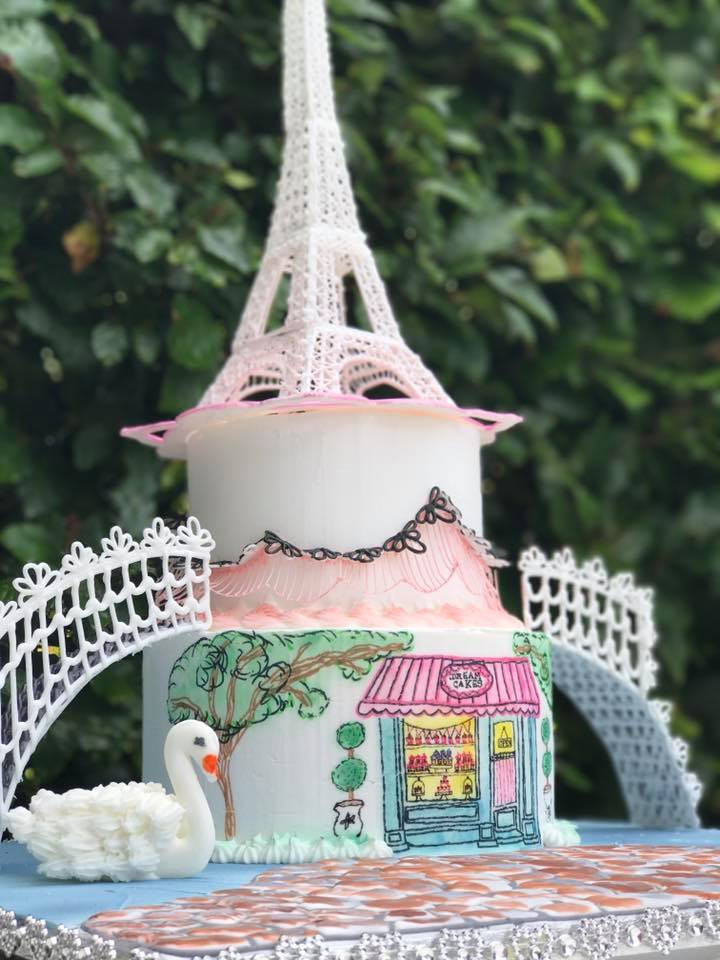 L´amour Paris Cake