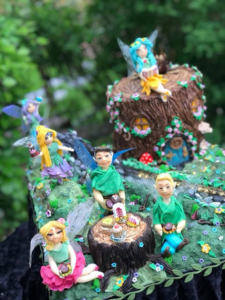 Fairy Forest Cake
