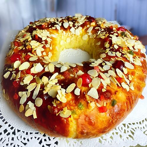 Roscón o rosca de Reyes (700gr aprox.)